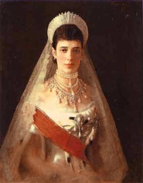 Kramskoi Portrait of the Empress Maria Feodorovna
